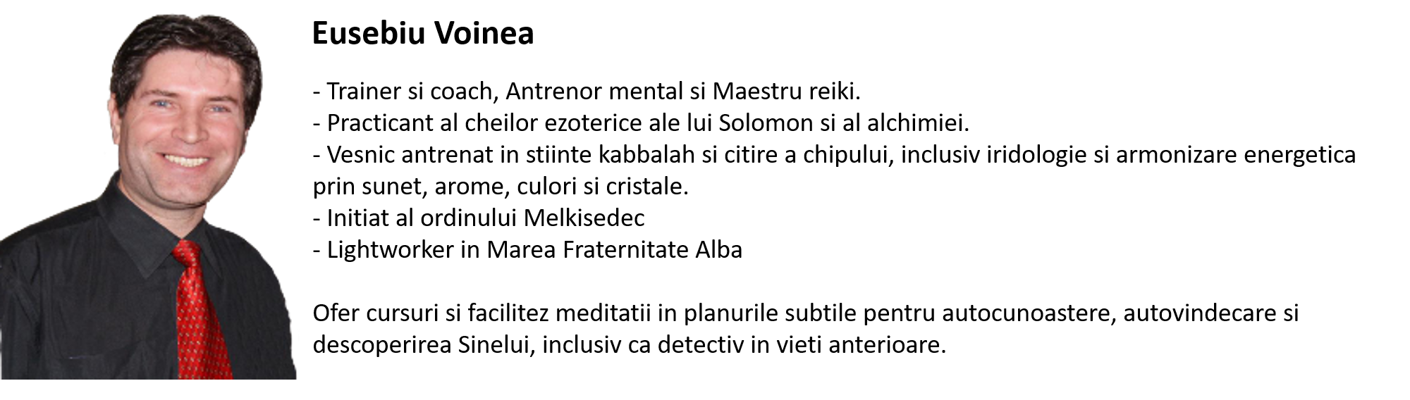 Eusebiu Voinea - gandeste liber si creativ